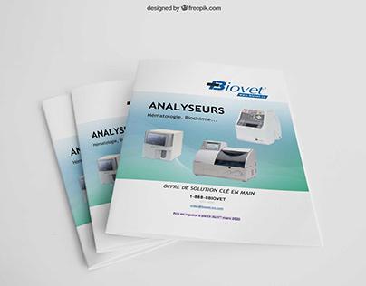 Catalogue d'équipements et fournitures