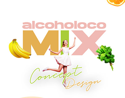 Alcoholoco Mix / Concept Design