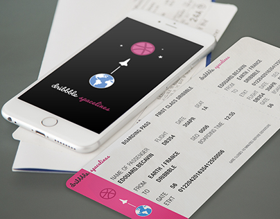 Boarding Pass on Dribbble