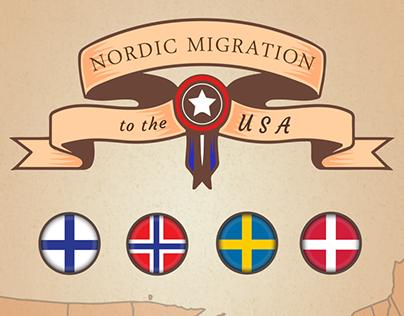 Nordic Migration Map