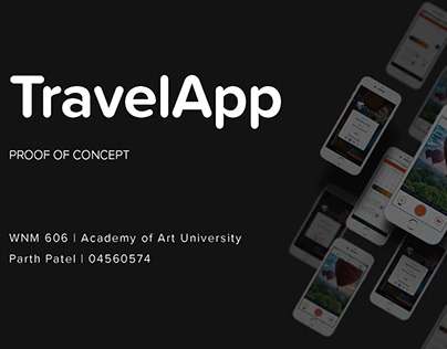 TravelApp : UX Research Project