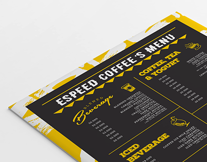 ESPEED COFFEE'S MENU