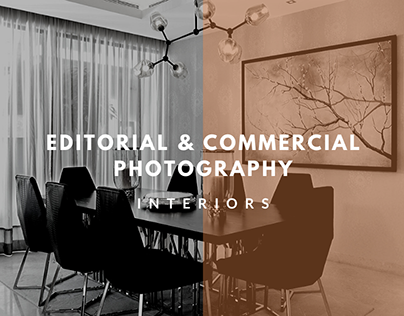Editorial & Commercial Photography (Interiors)
