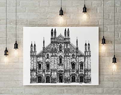 Architectural Illustrations | Pen and Ink