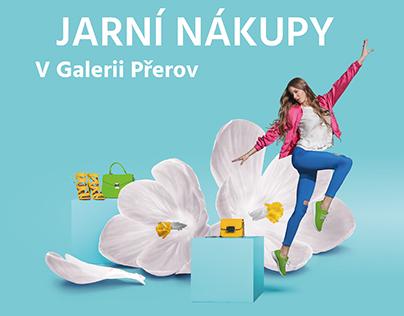 Galerie Přerov - spring shopping / Shopping Mall