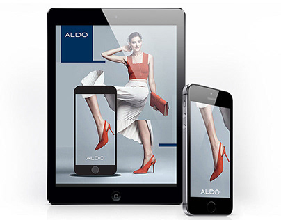 Aldo Promotional Microsite