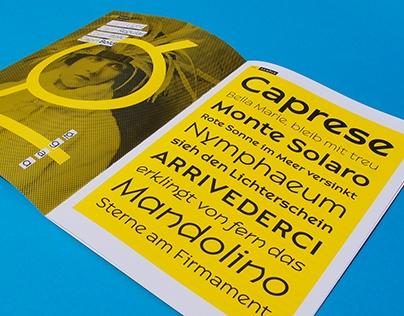 Capri Type Specimen