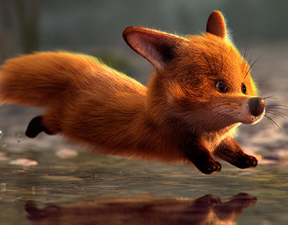 The quick red fox…