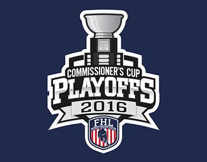Federal Hockey League Playoff Logos (2016)