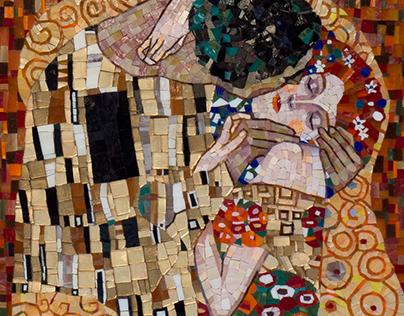 Kiss mosaic