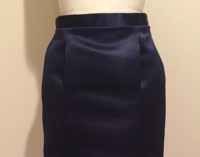 Satin Skirt for 28 JOY STREET