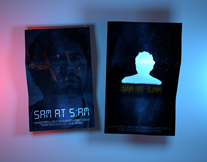 SAM AT 5:AM » Poster Designs