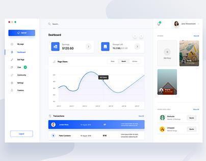 Designer Community Web app