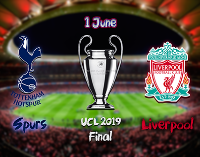 UCL 2019 Final Cover EN-AR | تصميم نهائي الأبطال 2019