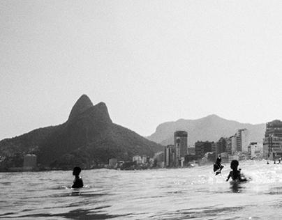 Rio desde la playa