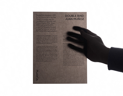 Double Bind — Museum Installation leaflet