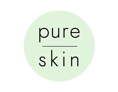 Logo 'Pure Skin'