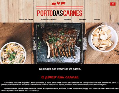 Site Porto das Carnes