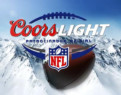 NFL Coors Light TV spot