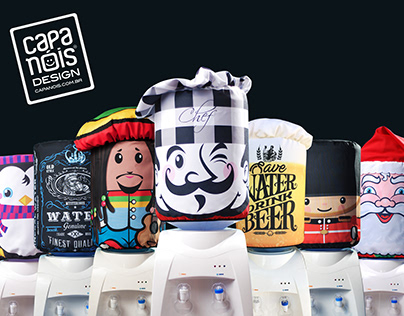 Capa Nóis - creative covers for water gallons