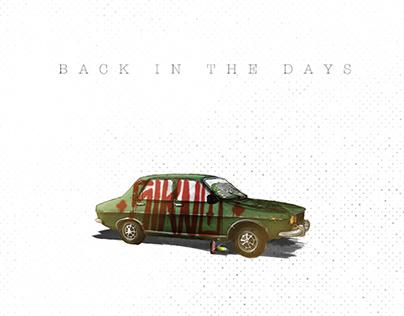 Back in the days - Digital Illustration