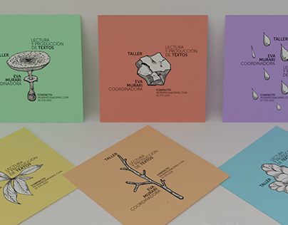 FLYER / Taller Literario Diseño & ilustración