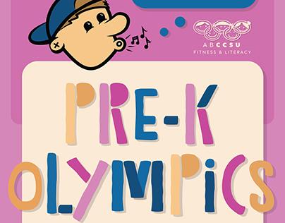 Pre-K Olympics Poster & Postcard