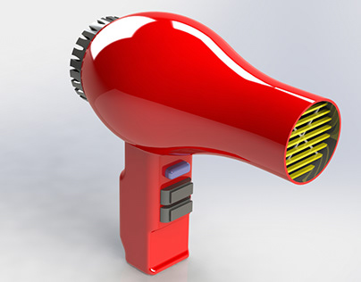 Hair Dryer | 3D Parametric Model