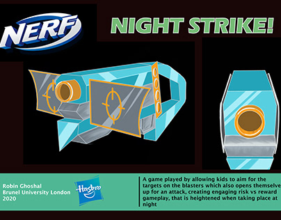 NERF NIGHT STRIKE | Industrial Design