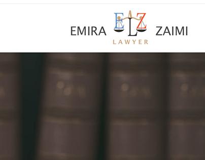 Emi Zaimi - Lawyer | Web Design