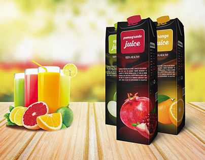 JUICE PRODUCT PACKAGING DESIGN