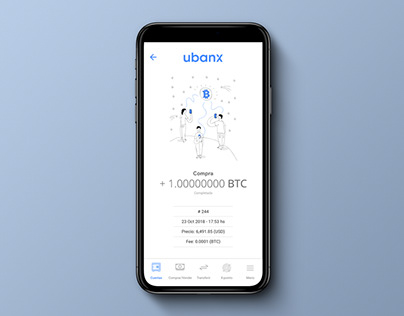Illustrations for Ubanx App