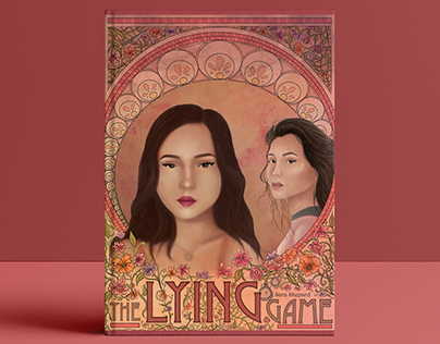 The Lying Game | Art Nouveau Book Cover