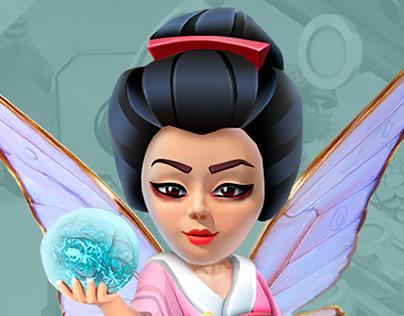 Healer Ninja• Concept Art
