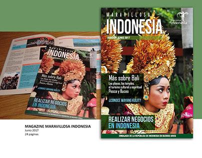 Magazine Maravillosa Indonesia - Ed. Junio 2017