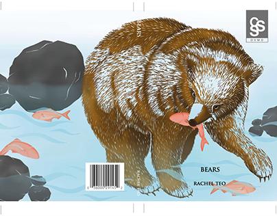 Linocut Book Cover Design