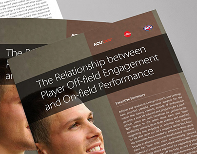 Final Report - ACU and AFL Players Association