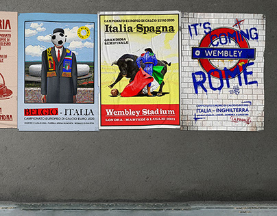 EURO 2020 Italy Matchday Posters