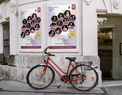 Arte Music Festival Poster Design