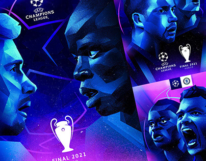 UCL Final - Social Posters
