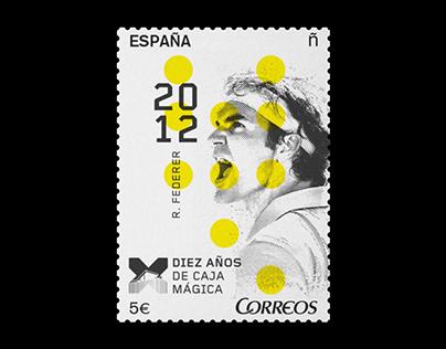 TENNIS OPEN x CORREOS ESPAÑA — STAMPS