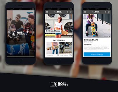 Diseño de Rollando App