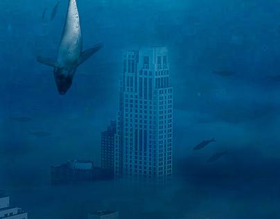 Fotomontaje - Oceano