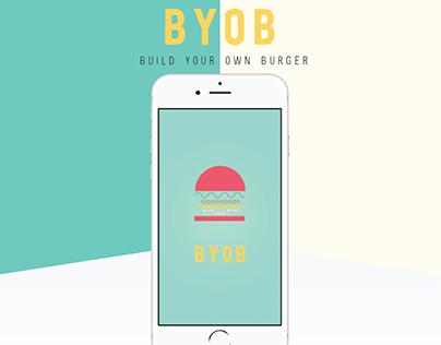 BYOB- Build Your Own Burger App Design
