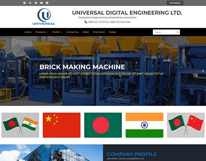 Brick Making Machine - Agency Website