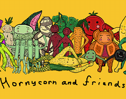 Hornycorn and Friends