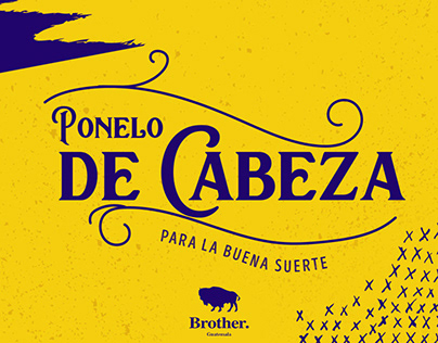Ponelo de Cabeza-Quezalteca-Brother Guatemala