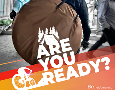 Bicycle Banner ARE YOU READY BANGLADESH