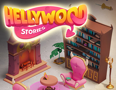 3D Gaming Props for Hollywood Stories