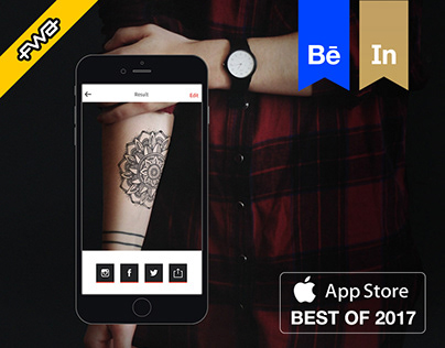 InkHunter. Mobile app for tattoo lovers